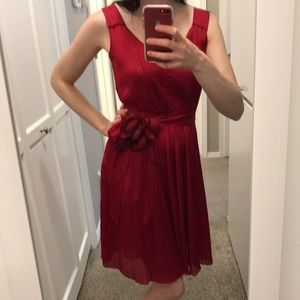 Ruby Red Dress from White House Black Market